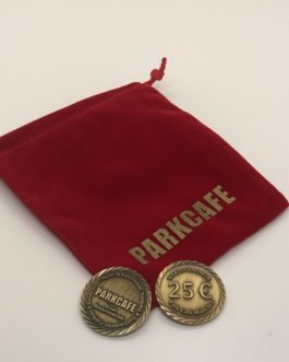 25€ Verzehrgutschein-Münze